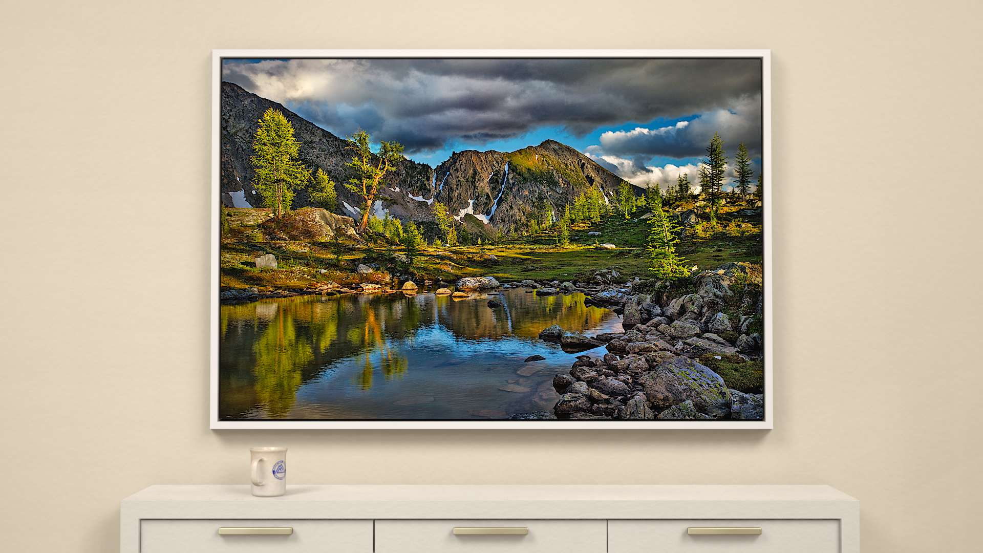 Alpine Mood Canvas Wall Art