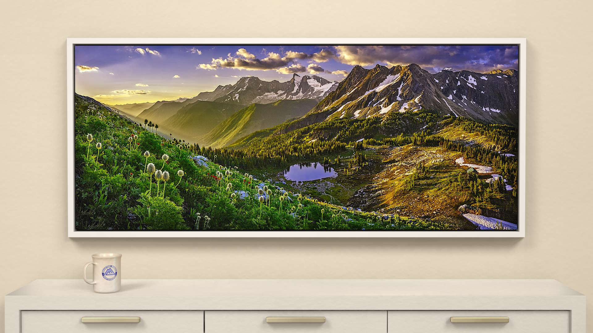 Daybreak on Jumbo Canvas Wall Art