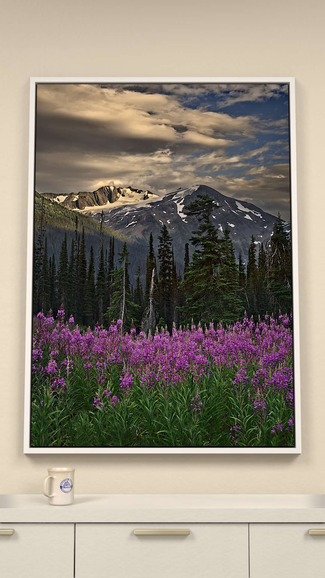 Fireweed Canvas Wall Art