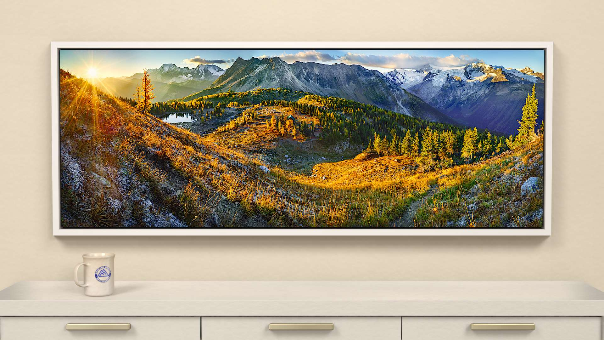 Jumbo Autumn Canvas Wall Art