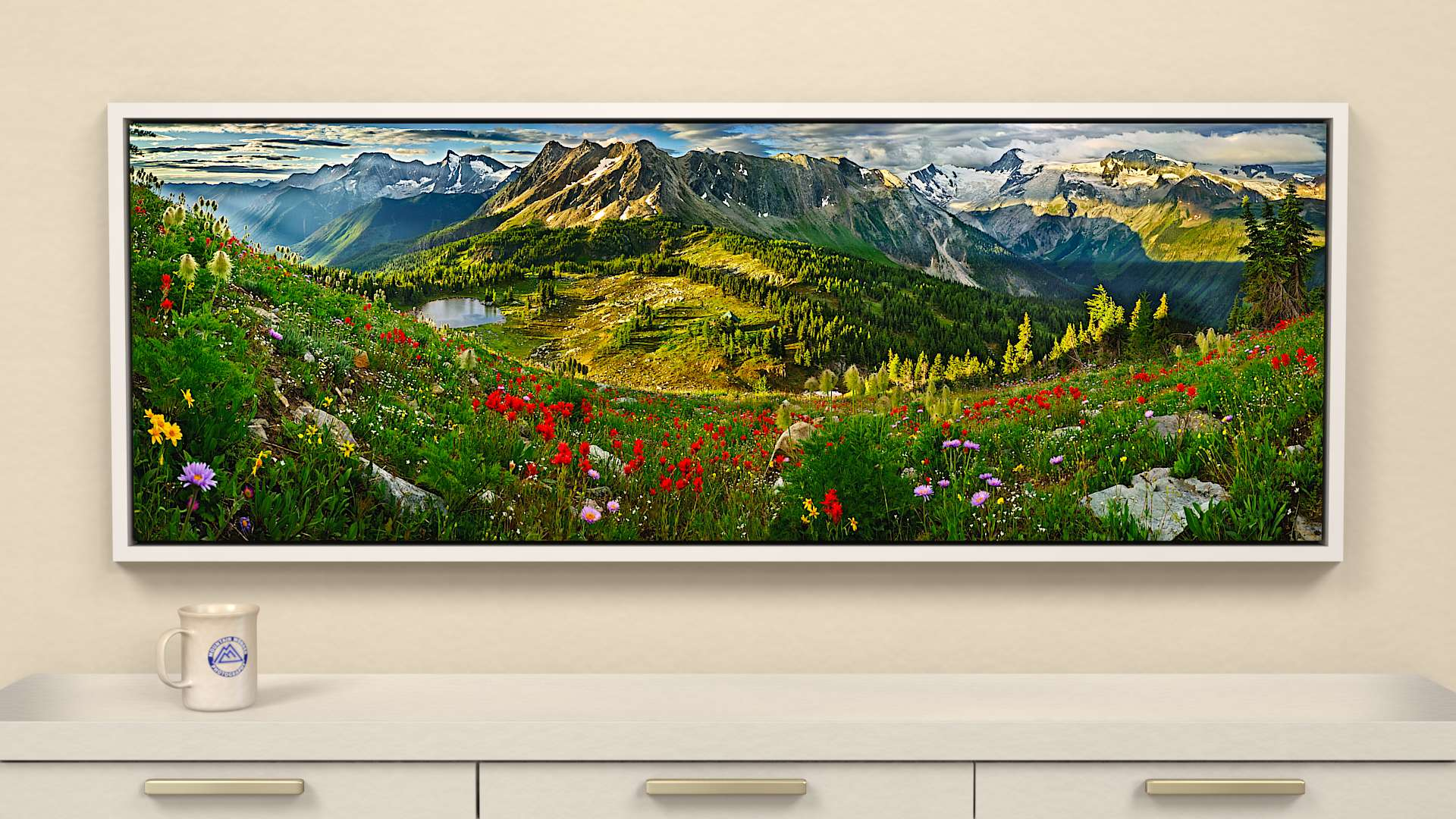 Jumbo Summer Canvas Wall Art