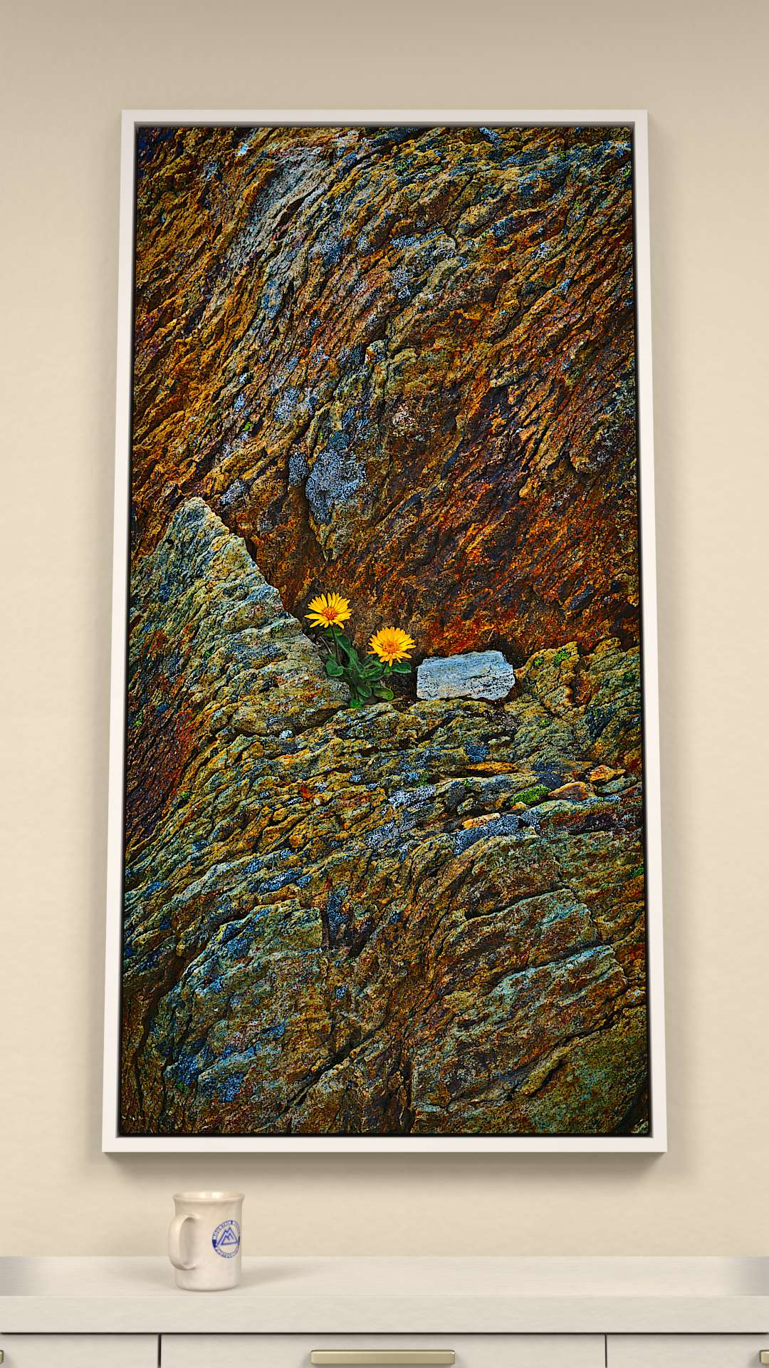 Metamorphic Mural Canvas Wall Art
