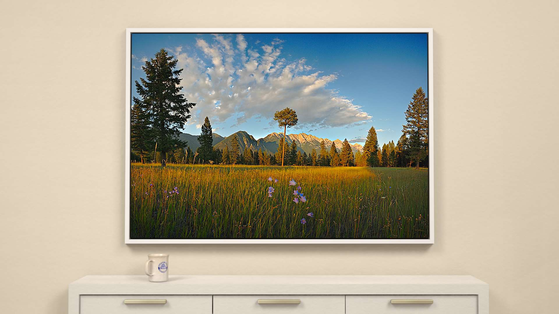 Open Range Canvas Wall Art