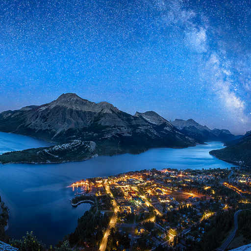 Waterton Night Sky