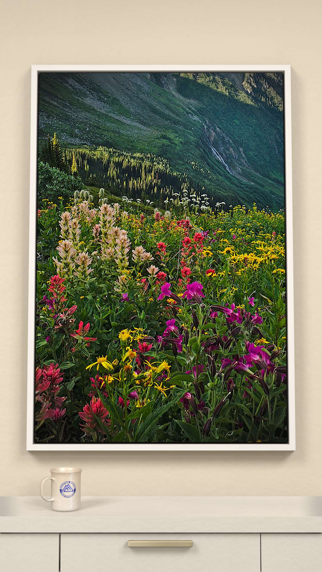 Westside Bugaboo pass Canvas Wall Art