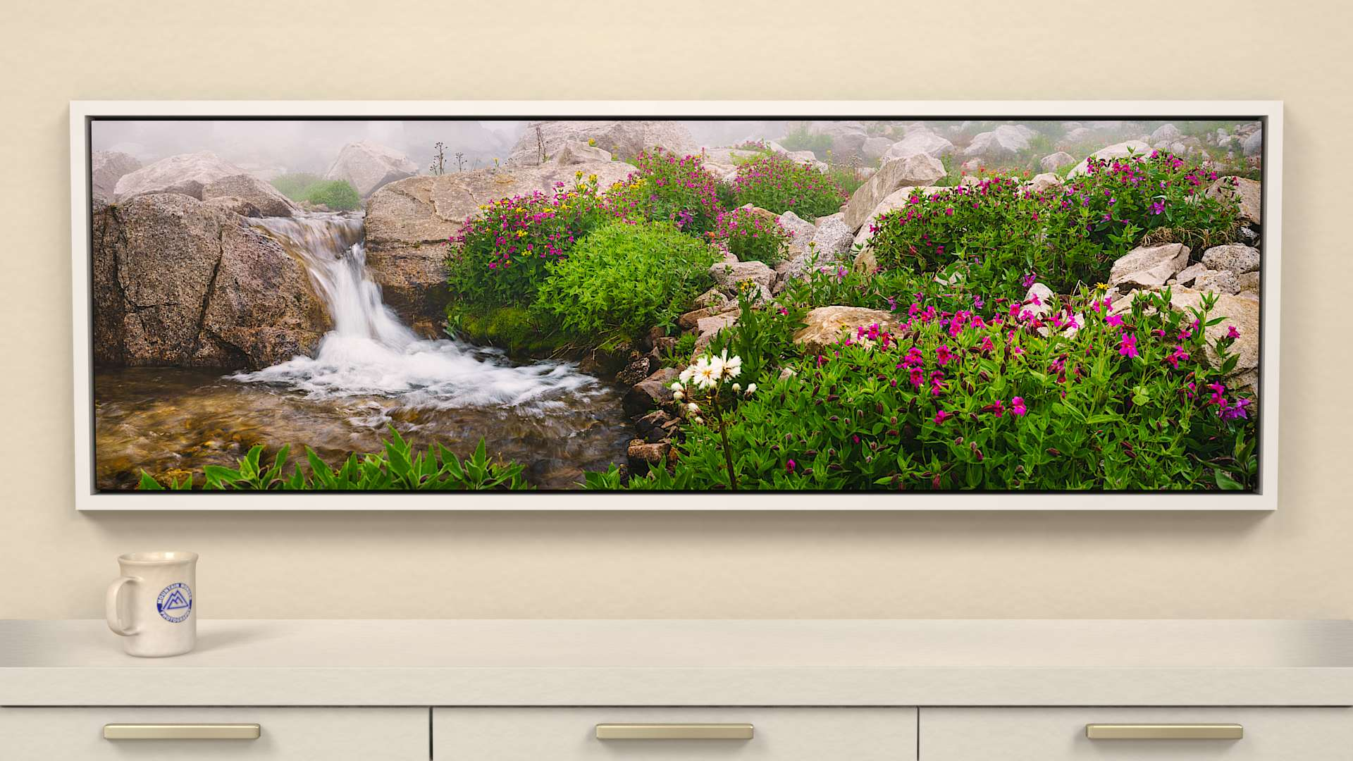 Alpine Garden Canvas Wall Art