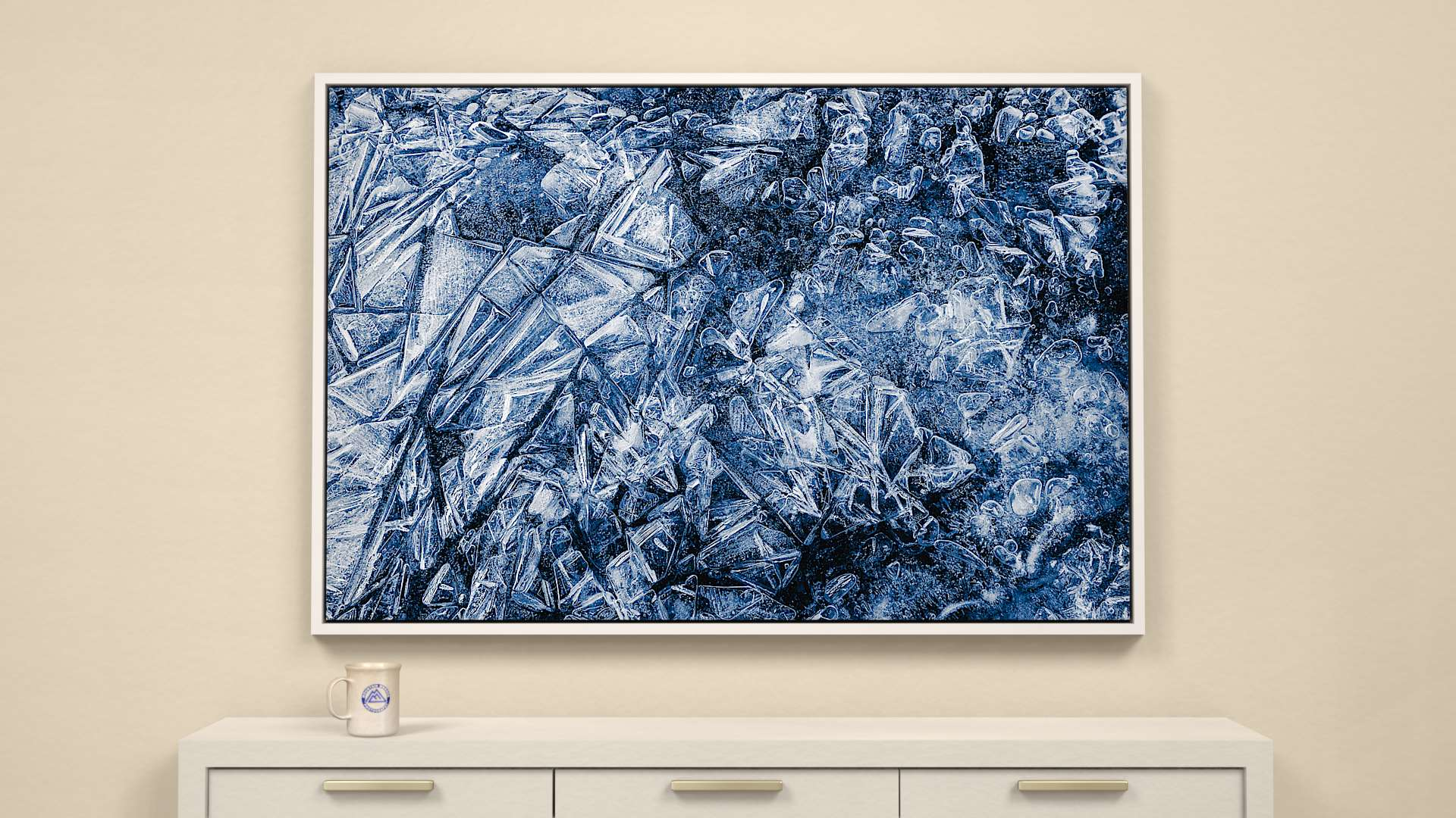 A World of Air and Ice Canvas Wall Art